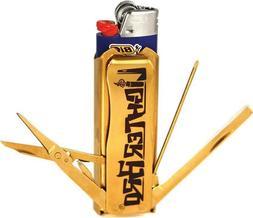 Lighter Bro LB2013G Lighter Bro Multi Tool Gold Titanium 2.7