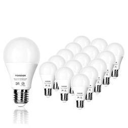 Tenergy LED Light Bulb, 9 watts Equivalent A19 E26 Medium St