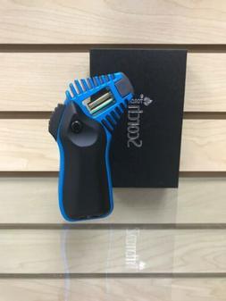 "Scorch Torch Lighter 5"" Black + Blue Adjustable + Refillab"