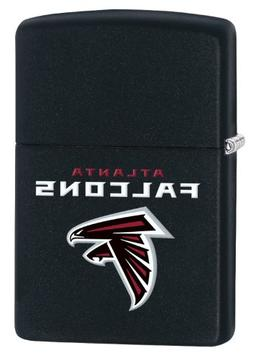 Zippo Lighter - NFL Atlanta Falcons Black Matte