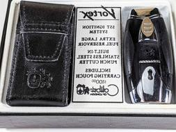 LIGHTER COLIBRI of London VORTEX With Punch Cutter, SST Igni