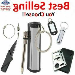 Striker Match Lighter Permanent Fire Starter Emergency Water