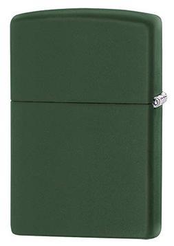 Zippo Lighter Green Matte