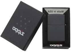 Zippo Lighter - Black Matte Finish