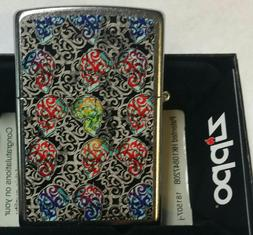 Zippo lighter Skull Day Of The Dead Limited Edition NEW IN B