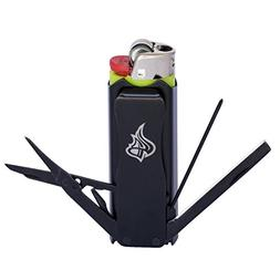 LighterBro - Lighter Sleeve - Multi-tool - Stainless Steel -