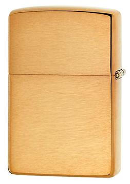 Zippo Lighter Solid Brass with Brushed Finish Classic