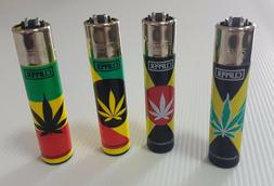 CLIPPER Lighters Full Size Full Series Leaves 25 Refillable