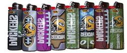 Bic Lighters Green Bay Packers NFL Officially Licensed Full