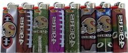 Bic Lighters San Francisco 49ers NFL Officially Licensed Ful