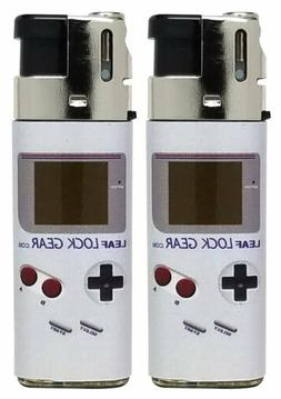 """Linse, Leaf Lock Gear Collab Lighters, """"Portable Video Game"""""""