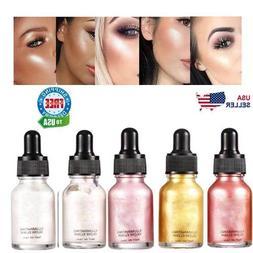 Liquid Highlighter Beauty Face Brightener Oil Shimmer Glow M