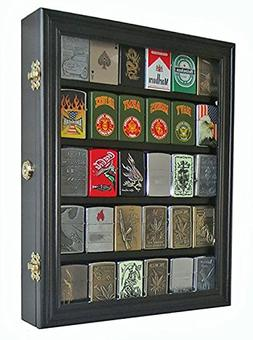 Lockable Cigarette/Sport Lighter Display Case Wall Cabinet S