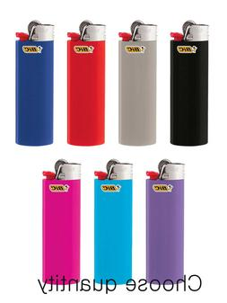 "Choose Quantity--Full Size""BIC"" Lighter Assorted Random Colo"