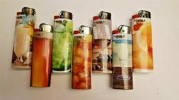 Lot of  BIC Full Size Lighters CHEERS Designs - NEW