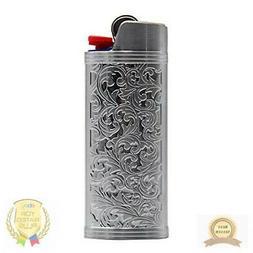 Lucklybestseller Metal Lighter Case Cover Holder Rainbow Col