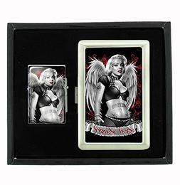 Marilyn Monroe Lost Angel Sexy Tattooed Vintage Cigarette Ca