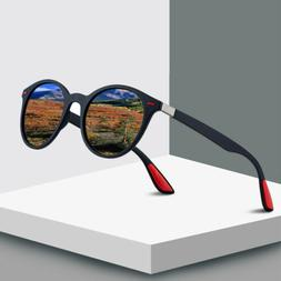 Men Women Classic Retro Rivet Polarized Sunglasses TR90 Legs