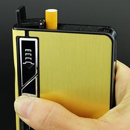 Sunway Lighting Automatic Ejection Rechargeable Cigarette Ca