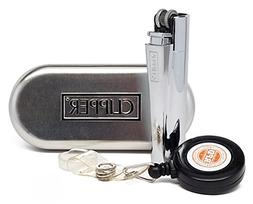 "Clipper Metal Cigarette Lighter ""Silver"" Collection With RPD"