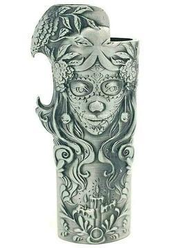 Metal Lighter Case Cover Fits Standard Bic Lighter J6 In Ros