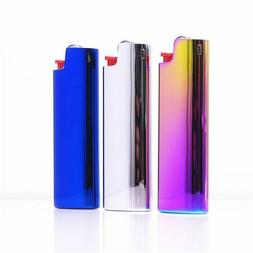 Metal Lighter Case Cover Holder Mirror Surface Gift For BIC