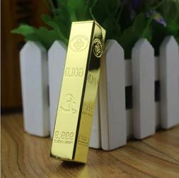 Metal Long type Gold Open fire Cigarette lighter Butane gas