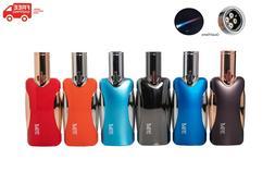 TESLA® Coil Lighters Metallic Quad Flame Torch Lighter
