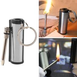 MFG Permanent Match Keychain Emergency Lighter Waterproof Ou