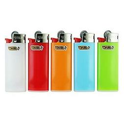 Bic Mini 5 Pack Assorted Colors Lighter