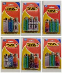 BIC MINI Geometric Lighters 3 Pack BUY MORE SAVE MORE Free S