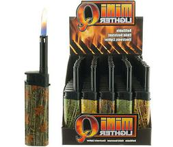 Lot of 5 Mini-Q Mini BBQ Refillable Gas Lighters Fireplace C