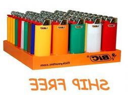 MINI Size BIC Lighters Cigarette Cigar Multi Purpose Assorte