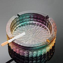 BJXM Modern Home Simple Living Room Crystal Ashtray Creative