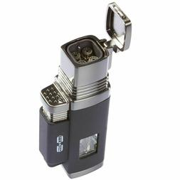 Moretti Churchill Quad Flame Torch Cigar Lighter With Punch