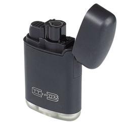 Moretti Single Torch Cigar Lighter - Refilable - Adjustable