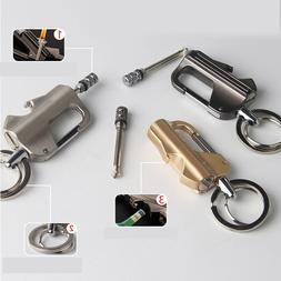 Multi-Function Key Buckle Cigar Cigarette <font><b>Lighters<