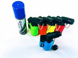 NEON 5Pack Angle Eagle Jet Flame Butane Torch Lighter Refill