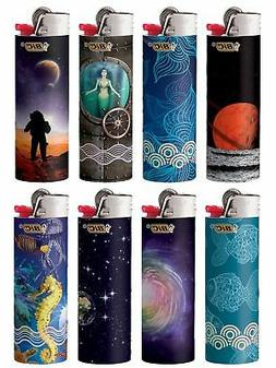 New BIC Special Edition Exploration Series Lighters, Set of