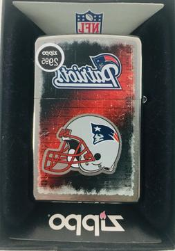 New England Patriots NFL Zippo Lighter Collector New Limited