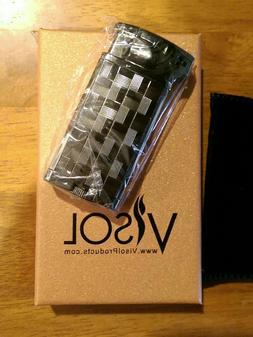 NEW IN BOX Visol Coppia All-in-One Gunmetal Cigar, Cigarette