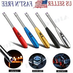 NEW Long Neck ARC Electric  Lighter USB Rechargeable Kitchen
