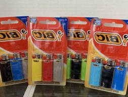 New BIC Mini Lighter, 3-Pack, Assorted Colors