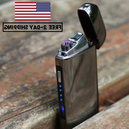 NEW Style JOLT Dual Arc Electric USB Lighter Rechargeable Pl