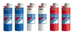 New York Rangers BIC Lighters 6pk NHL Officially Licensed Ci
