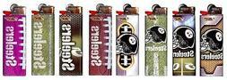 Bic NFL Pittsburgh Steelers Lighters Set of 8, Steelers Helm