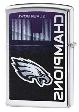 Zippo NFL Super Bowl LII Philadelphia Eagles Pocket Lighter