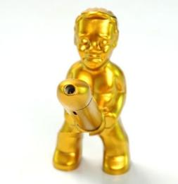 Originality Funny Metal Windproof Lighter The Little Old Man
