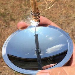 Outdoor Camping Water Windproof Solar Lighter Fire Starter E