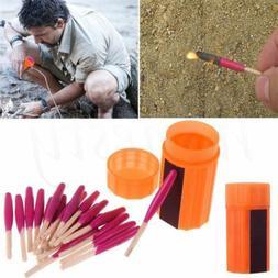 Outdoor Stormproof Waterproof Emergency Survival Lighter Kit